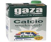 LECHE GAZA CALCIO SEMIDESNATADA 1 LITRO