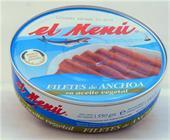 ANCHOA PANDERETA EL MENU 550 GR