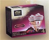 CONO GOLD NATA FRUTOS ROJOS X4 NESTLE