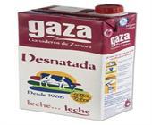 LECHE GAZA DESNATADA 1 LITRO