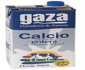 LECHE GAZA CALCIO ENTERA 1 LITRO