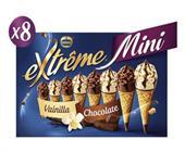 EXTREME MINI VAINILLA CHOCOLATE 8X60 ML PACK 7 CJ