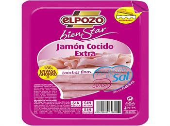 JAMON COCIDO EN LONCHAS