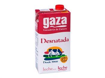LECHE GAZA CALCIO DESNATADA-------