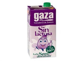 LECHE GAZA SIN LACT SEMIDESNATADA