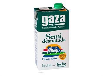 LECHE GAZA SEMIDESNATADA----