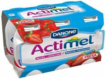 ACTIMEL FRESA  X6 DANONE