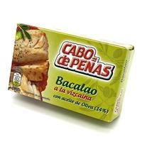 Bacalao a la Vizcaina con Aceite de Oliva 111 gramos Cabo de Peñas.
