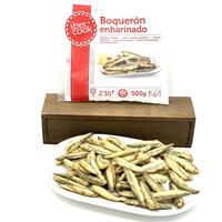 Boqueron enharinado 500 gramos Ibercook.