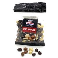 Cacahuete recubierto de chocolate mix 100 gramos Casa Ricardo.