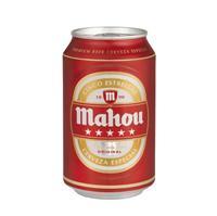 Cerveza 5 estrellas 33 cl 24 unidades Mahou.