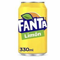 Fanta Limon 33 cl 24 unidades.