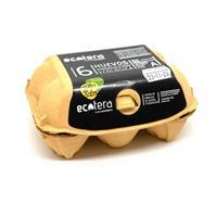 Huevos ecologicos m/l ecotera 6 und/pack