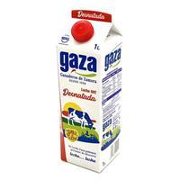 Leche Desnatada 1 litro Gaza.