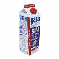Leche Desnatada Sin Lactosa 1 Litro Gaza.