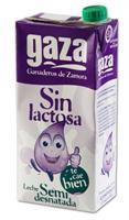 LECHE GAZA SIN LACTOSA SEMIDESNATADA 1 LITRO