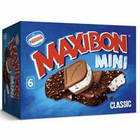 Maxibon Mini Nata 6 unidades Helados Nestle.