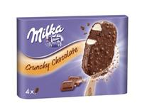 Milka Bombon Crunchy 4 unidades Helados Nestle.