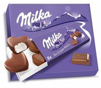 Milka Small Hearts 3x8x10 ml Helados Nestle.