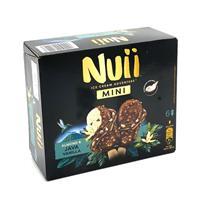Nuii mini almendrado vainilla de Java 6 unidades Helados Nestle.