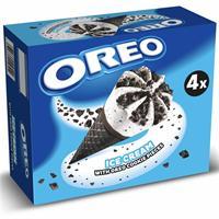 Oreo Cono Cookies 4 unidades Helados Nestle.