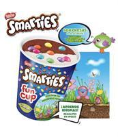 Smarties Fun Cup 15 unidades Helados Nestle.