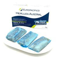 Supremas de merluza austral  caja 2 kg Europacifico.