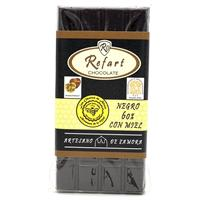 Tableta chocolate negro 60 % con miel 40%